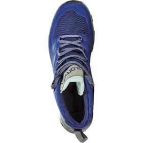 Salomon OUTline Mid GTX Calzado Hombre, medieval blue/castor gray/green milieu